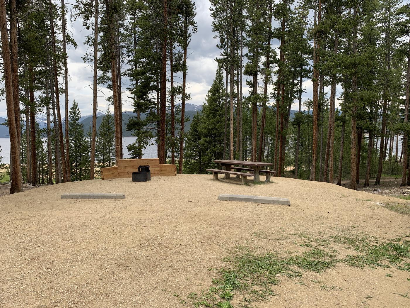 Molly Brown campground, site 8