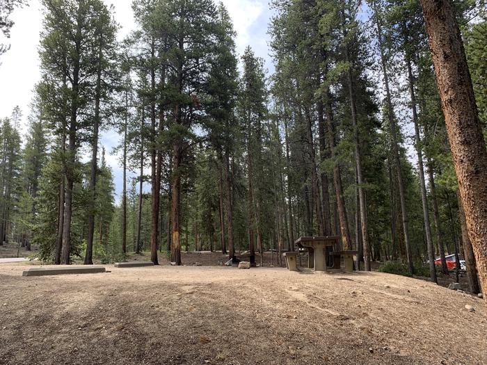 Molly Brown Campground, site 25 view