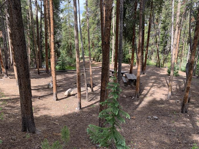 Molly Brown Campground, site 32 view 2