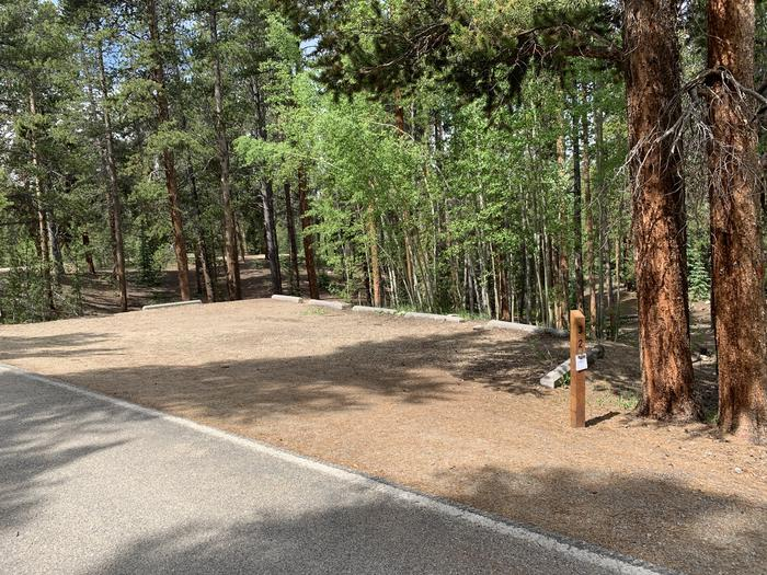 Molly Brown Campground, site 32 parking 2