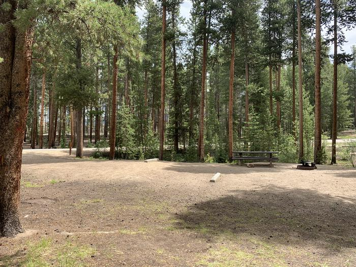 Molly Brown Campground, site 48 parking 4