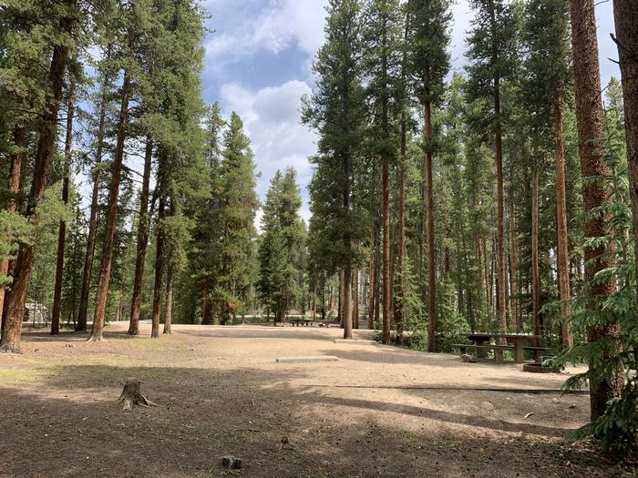 Molly Brown Campground, site 48 parking 3