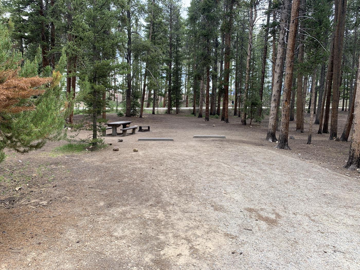Molly Brown Campground, site 49