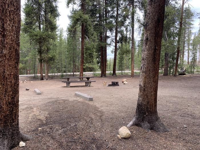 Molly Brown Campground, site 49 site view 4