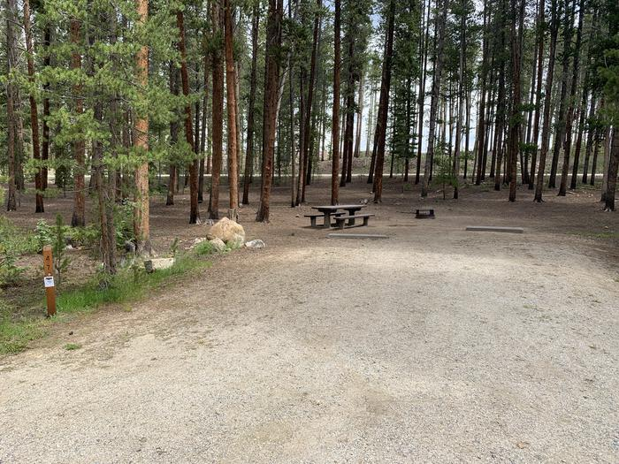 Molly Brown Campground, site 47