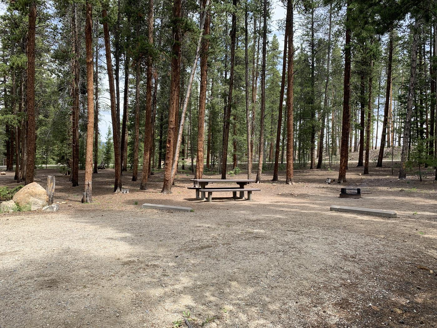 Molly Brown Campground, site 47 parking 2