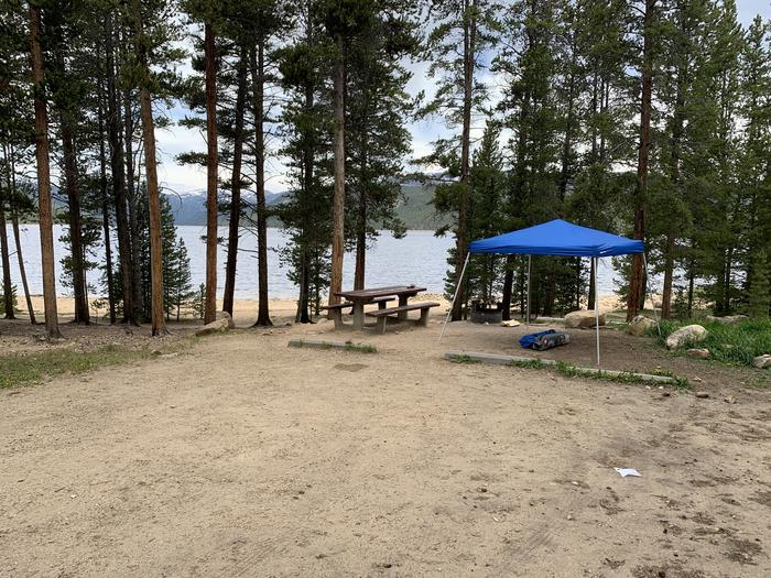 Molly Brown Campground, site 4 parking 3