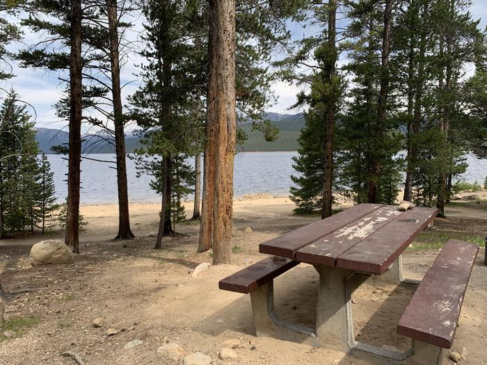 Molly Brown Campground, site 4