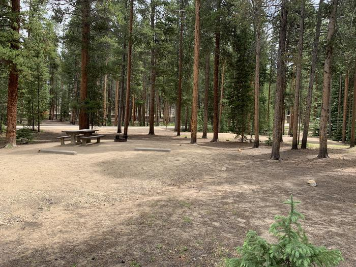 Molly Brown Campground, site 28 parking 3