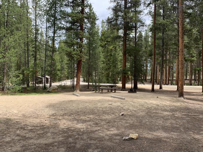 Molly Brown Campground, site 28 parking 4