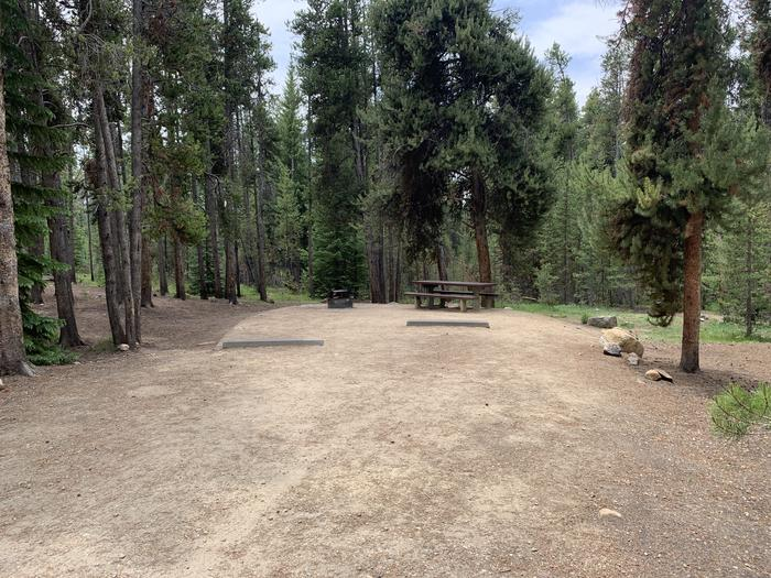 Molly Brown Campground, site 14 parking 2