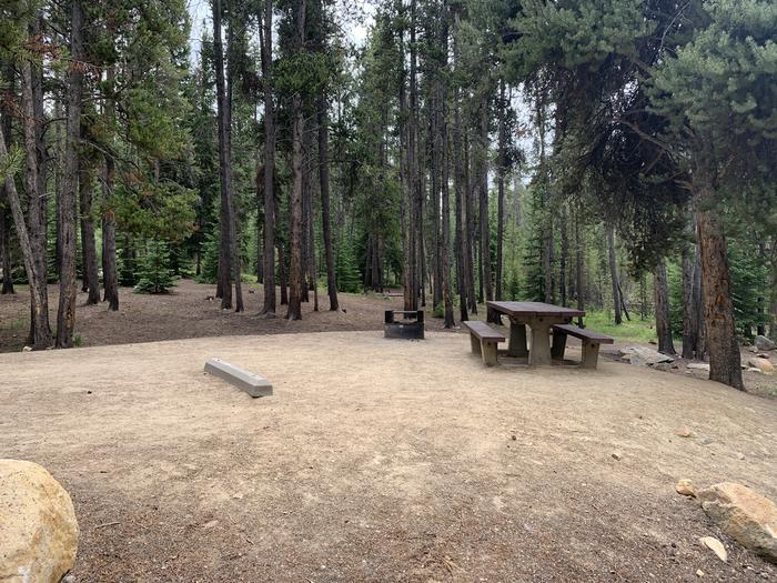 Molly Brown Campground, site 14