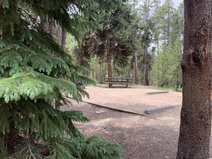 Molly Brown Campground, site 14 view