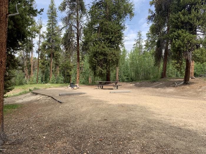 Molly Brown Campground, site 36 parking 3