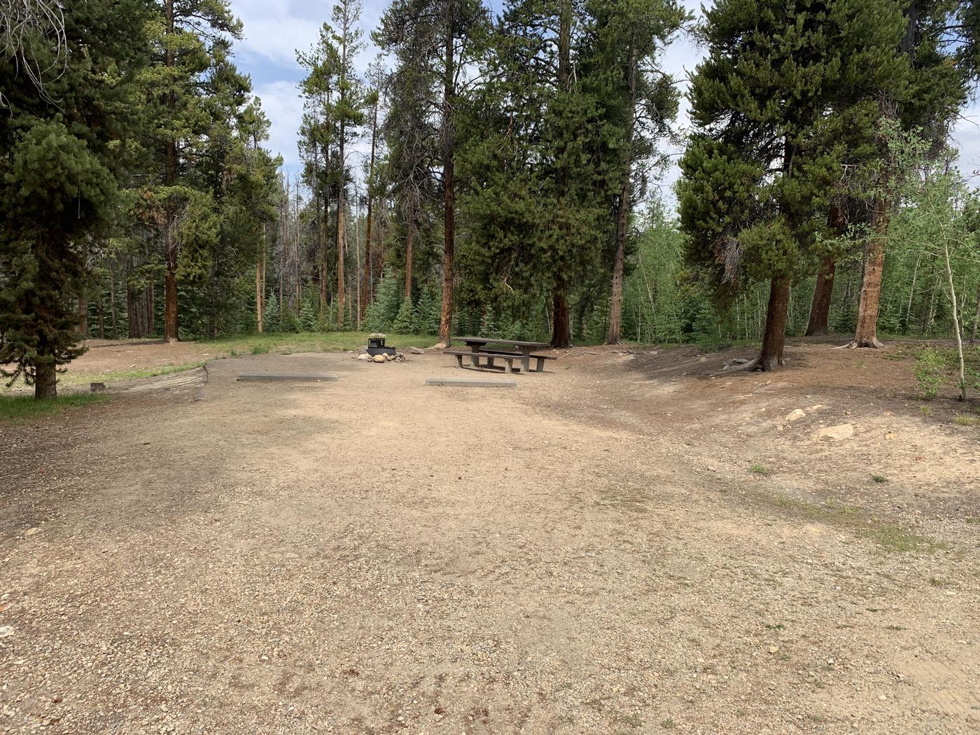 Molly Brown Campground, site 36 parking 2