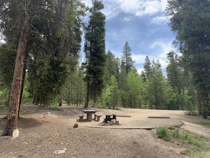 Molly Brown Campground, site 36 view