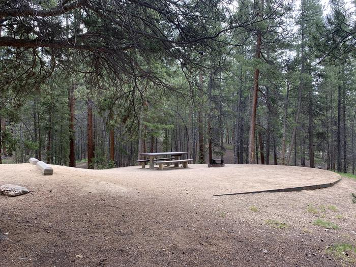 Molly Brown Campground, site 41