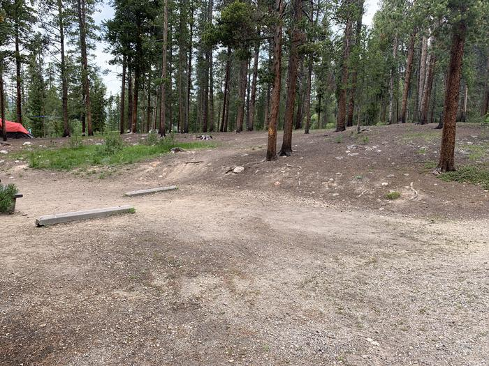 Molly Brown Campground, site 17 parking 4