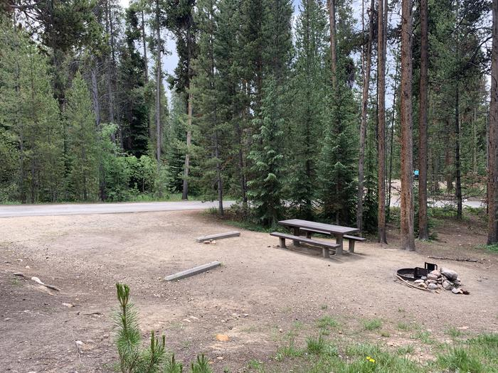 Molly Brown Campground, site 17 parking 3