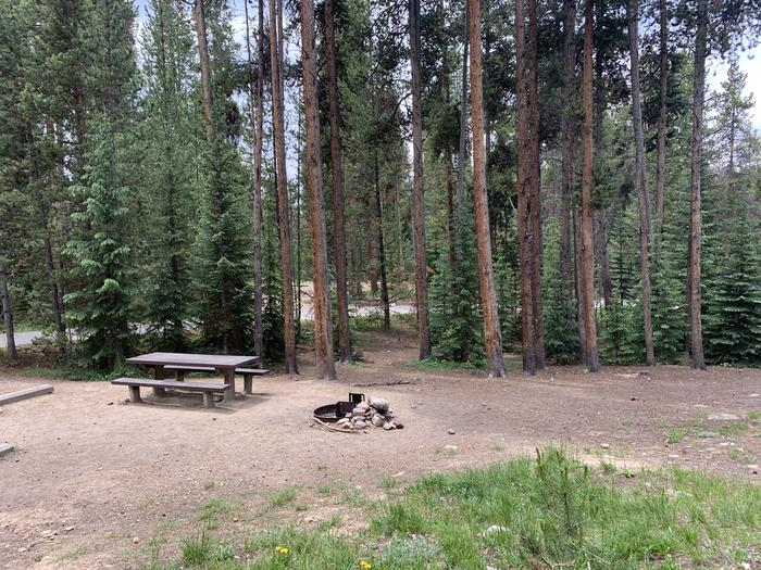 Molly Brown Campground, site 17