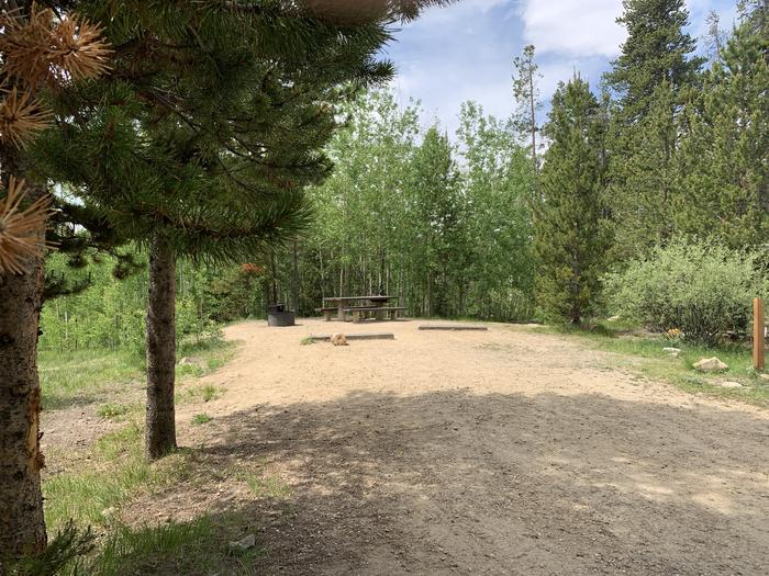 Molly Brown Campground, site 38 parking 3