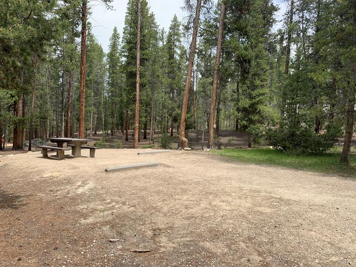 Molly Brown Campground, site 27 parking 3