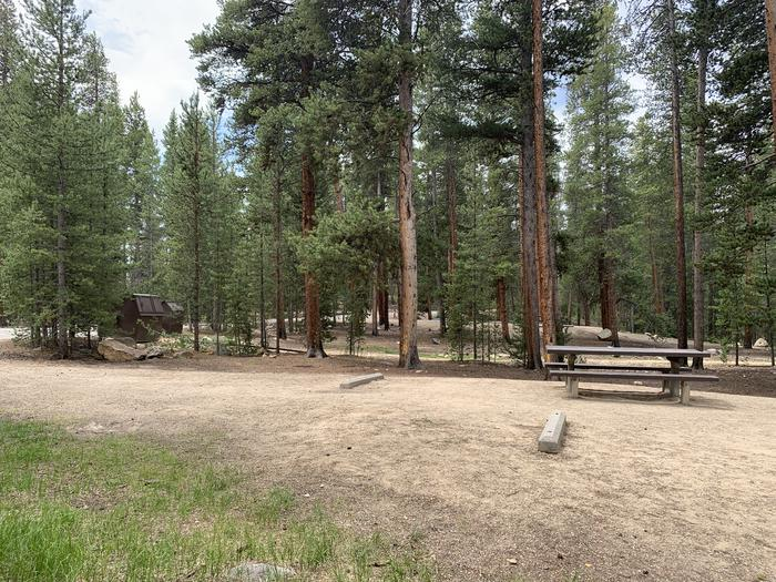Molly Brown Campground, site 27 view 2