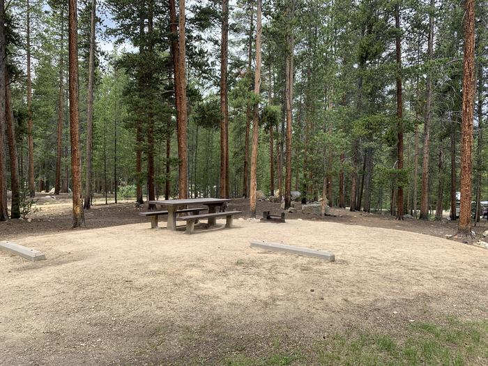 Molly Brown Campground, site 27 view 3