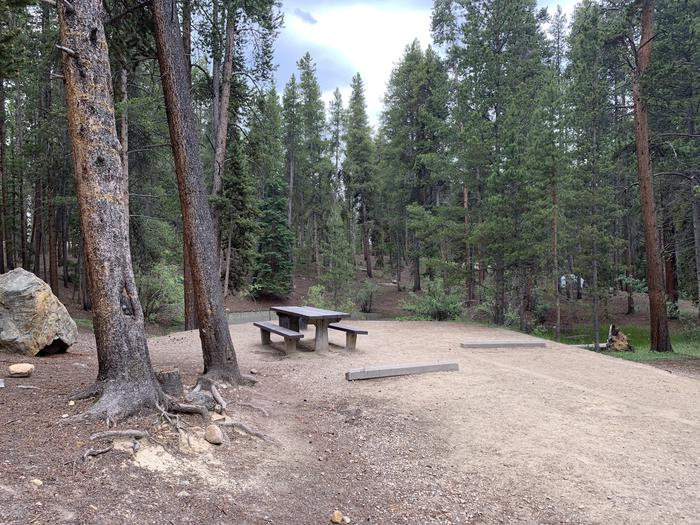 Molly Brown Campground, site 22