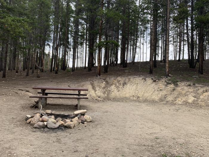 Molly Brown Campground, site 1