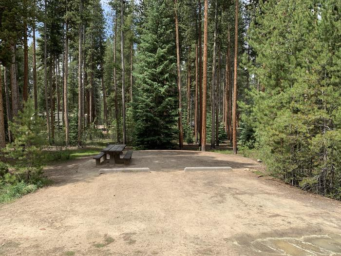 Molly Brown Campground, site 46 parking 2
