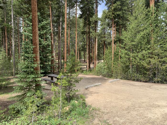 Molly Brown Campground, site 46 parking 3