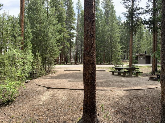Molly Brown Campground, site 46 site view 2