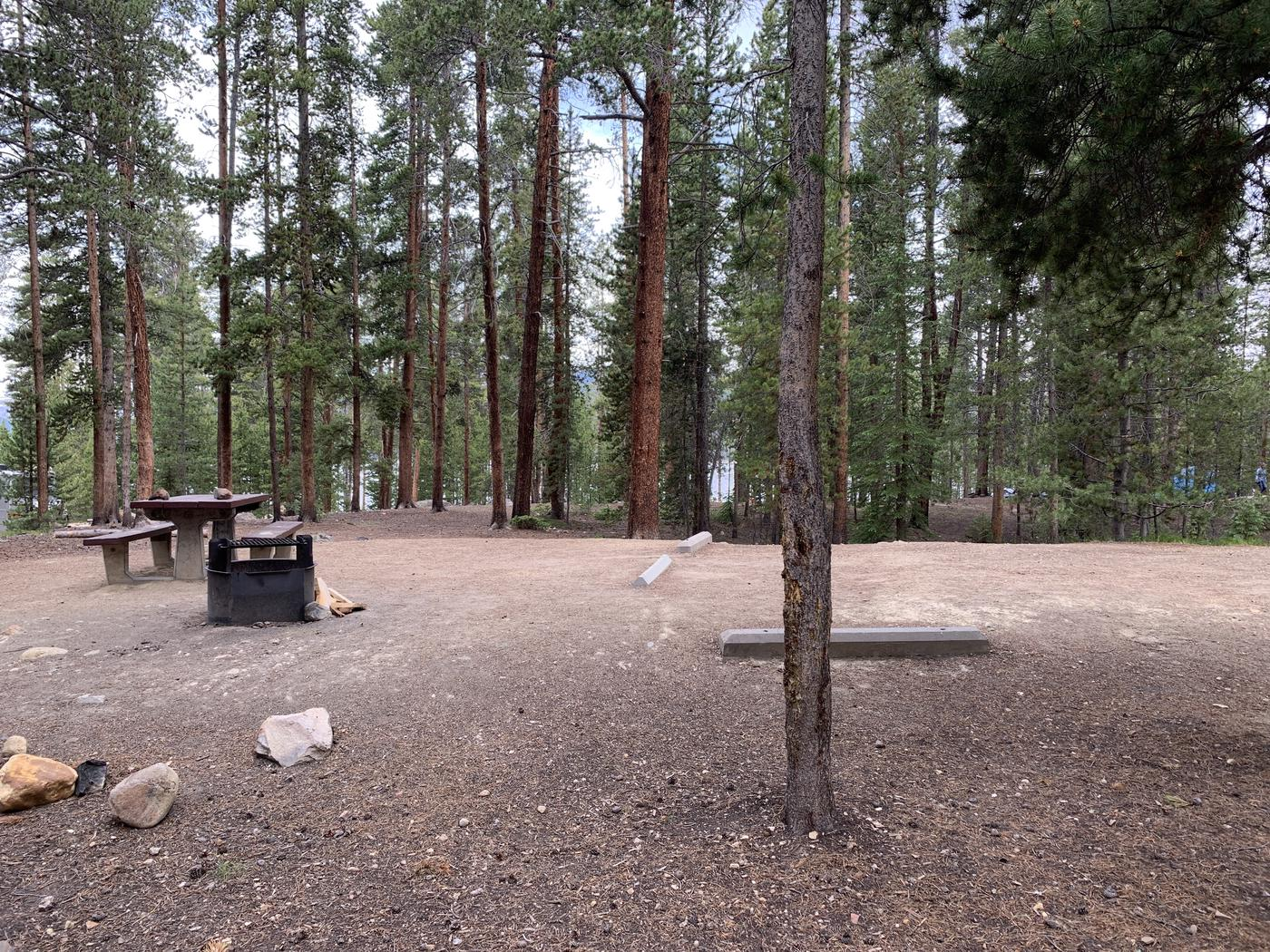 Molly Brown Campground, site 24