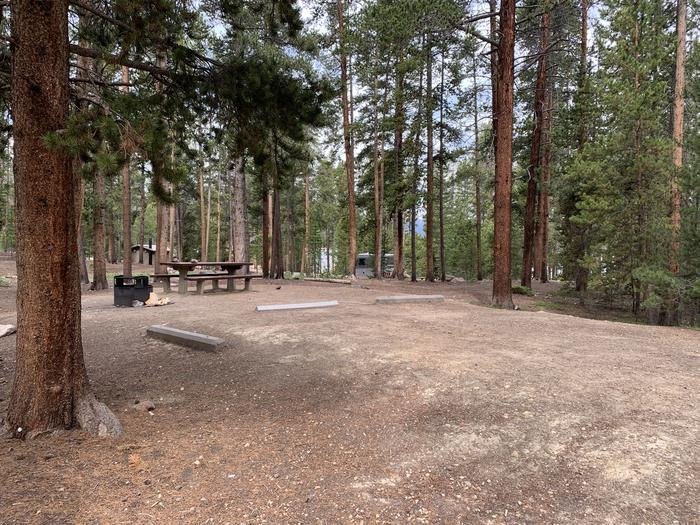 Molly Brown Campground, site 24 parking 4