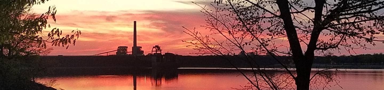 Sunset over Redbud Campground