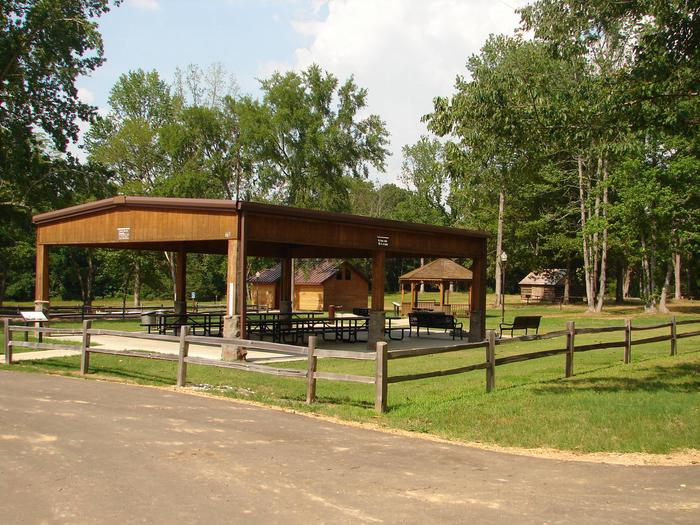 Come enjoy a family picnic under the group picnic shelter.Picnic Shelter