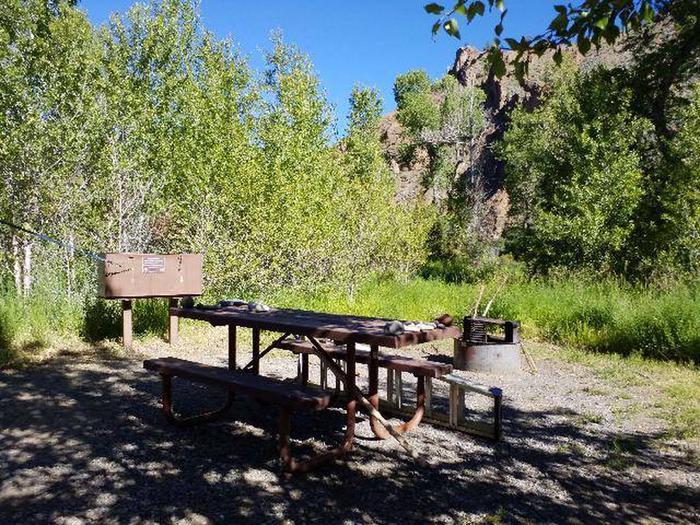 Wapiti Campsite 17 - Picnic Area