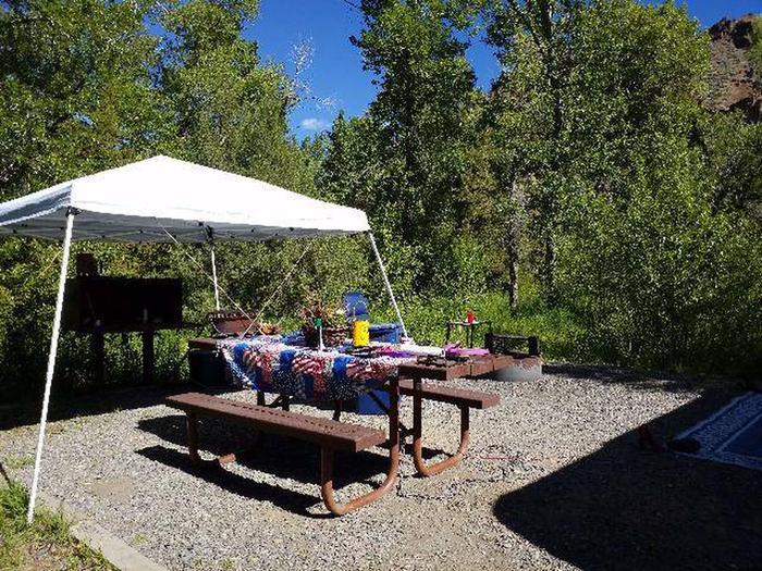 Wapiti Campsite 20 - Picnic Area