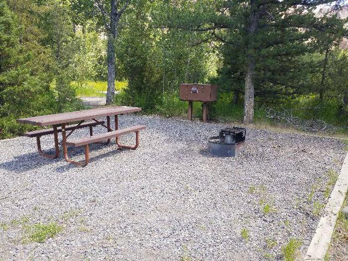 Wapiti Campsite 22 - Picnic Area