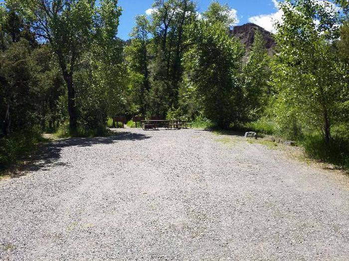 Wapiti Campsite 26 - Parking Area