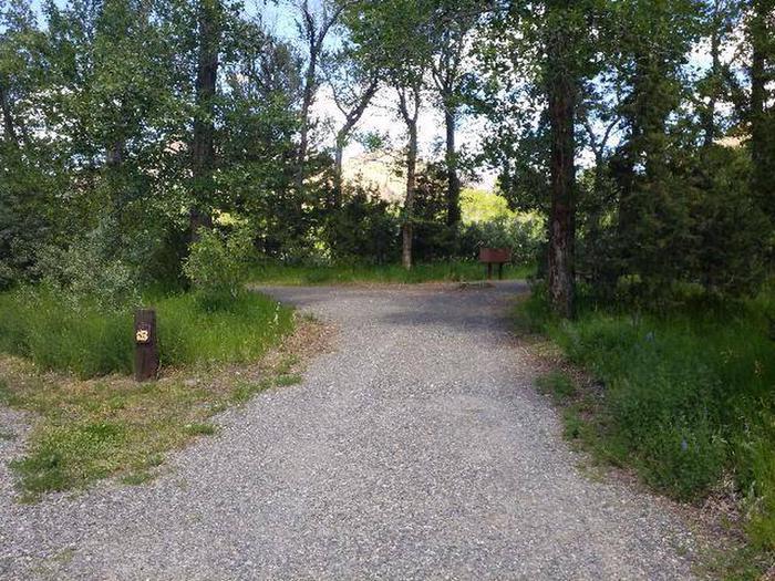 Wapiti Campsite 28 - Parking Area