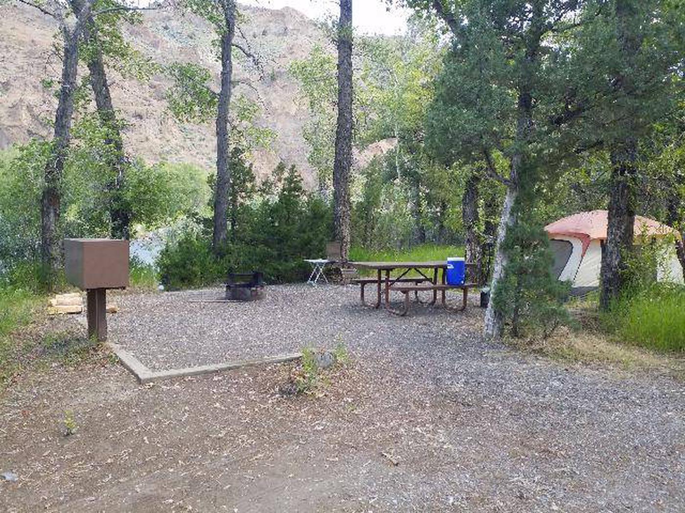 Wapiti Campsite 28 - Picnic Area