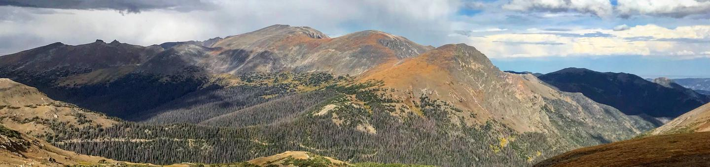 Mountains at Rocky Mountain National Park