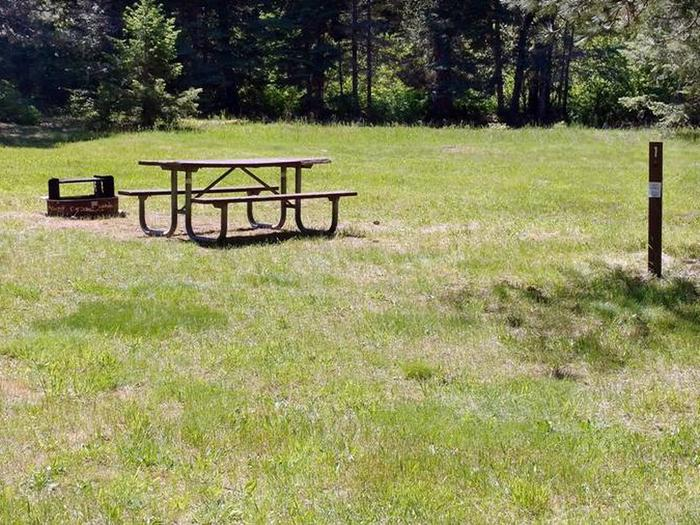 Beauty Creek Campground Site 1