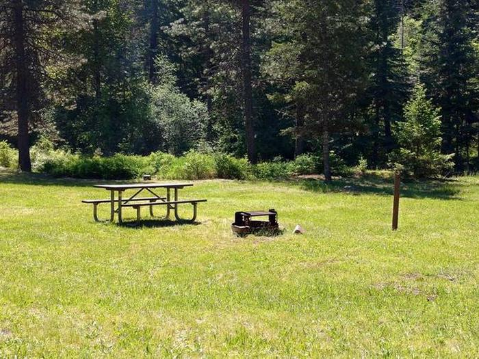 Beauty Creek Campground Site 3