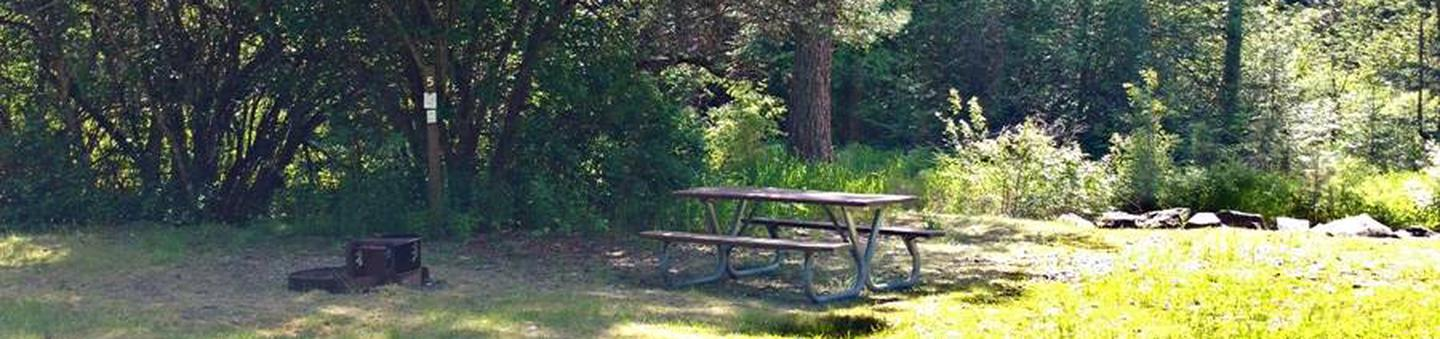 Beauty Creek Campground Site 5