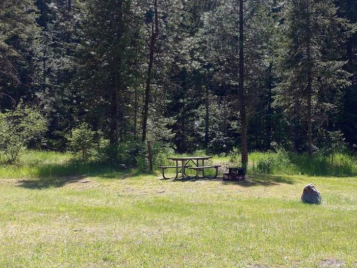 Beauty Creek Campground Site 7