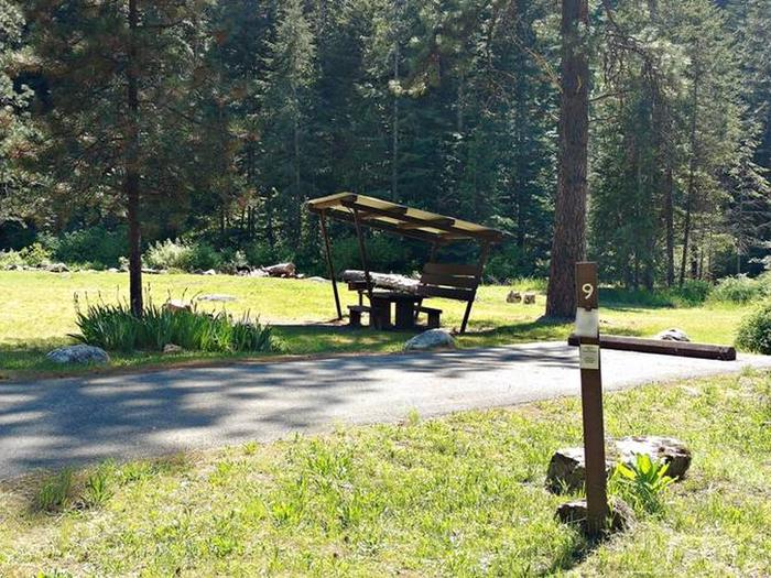 Beauty Creek Campground Site 9