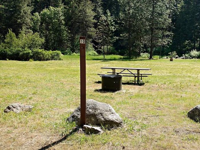 Beauty Creek Campground Site 10